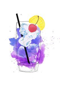 Purple Haze Cocktail